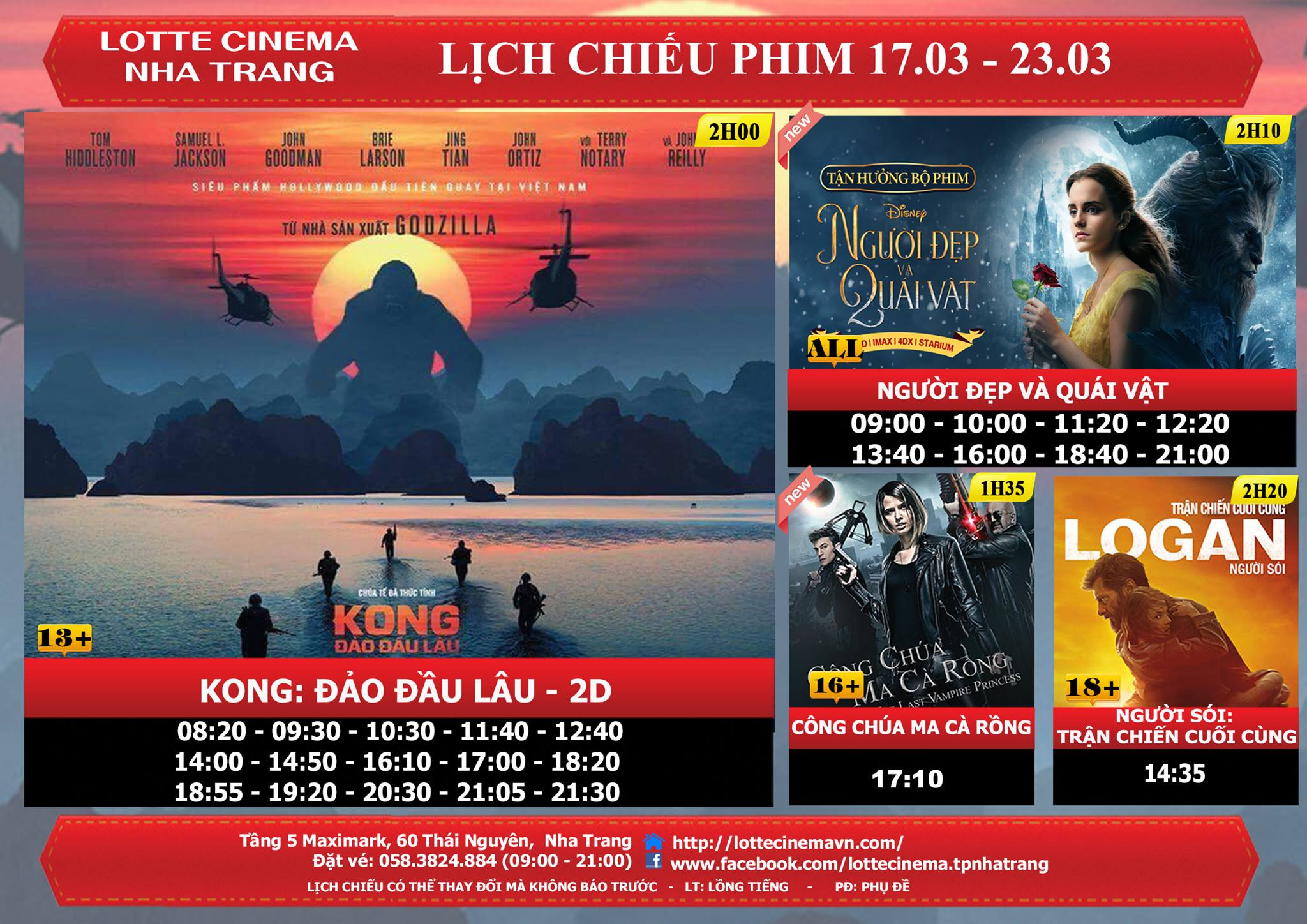 Phim Beauty and The Beast - Khởi Chiếu Ngày 17-3-2017