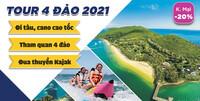 Tour 4 đảo Nha Trang [2021 - Chính Gốc]