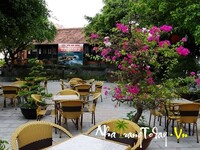 Cafe công viên Hòn Chồng