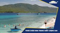 Tour 3 đảo chất lượng cao