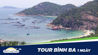Tour đảo Bình Ba 1 ngày [2020]