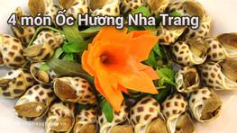 4 món ốc hương thơm ngon Nha Trang