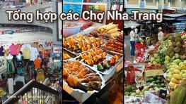 Địa chỉ các chợ ở Nha Trang - Khánh Hòa