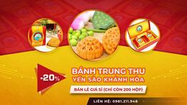 Bánh Trung Thu Yến Sào Sanest Nha Trang - Khánh Hoà