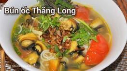 Bún ốc Thăng Long Nha Trang