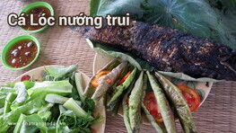 Cá Lóc Nướng Trui Nha Trang