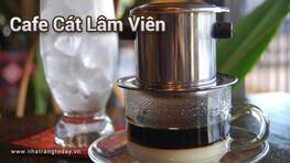 Cafe Cát Lâm Viên Nha Trang