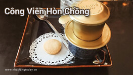 Cafe công viên Hòn Chồng Nha Trang