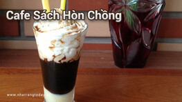 Cafe sách Hòn Chồng Nha Trang