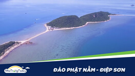 Đảo Phật Nằm - Hòn Ó - Nơi có con đường đi bộ giữa biển độc đáo