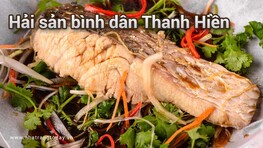 Hải sản bình dân Thanh Hiền Nha Trang