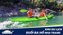 Suối Ba Hồ - Tuyệt Tình Cốc Phiên Bản Việt Đẹp Nhất Nha Trang