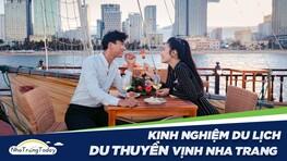 Kinh Nghiệm Đi Du Lịch Du Thuyền Vịnh Nha Trang Chi Tiết 2021