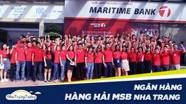 Ngân Hàng TM - CP Hàng Hải Maritime Bank Chi Nhánh Nha Trang
