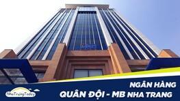 Ngân Hàng TM - CP Quân Đội MB Bank Nha Trang Khánh Hòa