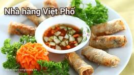 Nhà hàng Việt Phố Nha Trang