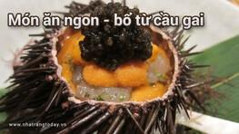 Những món ăn ngon - bổ từ cầu gai Nha trang