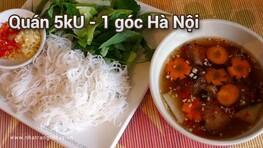Quán 5kU - 1 góc Hà Nội Nha Trang