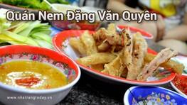Quán Nem Đặng Văn Quyên Nha Trang