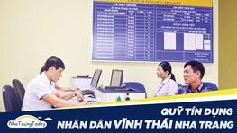 Quỹ Tín Dụng Nhân Dân Vĩnh Thái Nha Trang Khánh Hòa