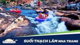 Khám Phá KDL Sinh Thái Waterland Suối Thạch Lâm Nha Trang