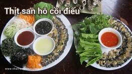 Là lạ món thịt san hô cồi điếu - hàu điếu Nha Trang