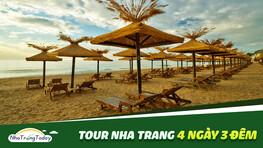 Tour Nha Trang 4 ngày 3 đêm Uy Tín - Chất Lượng Cao