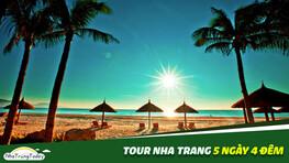 Tour Nha Trang 5 ngày 4 đêm Trọn Gói - Chất Lượng Cao