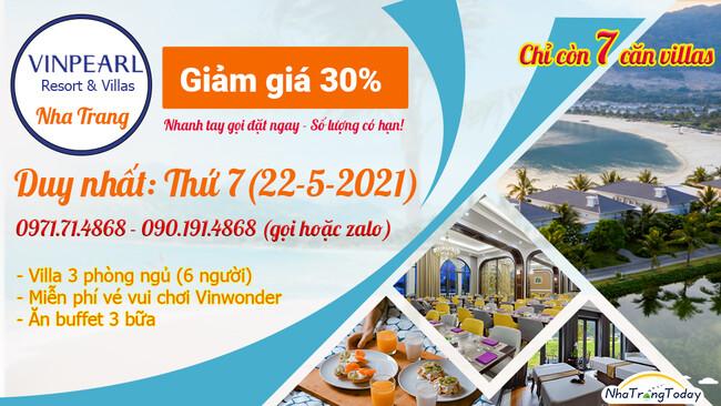Vinpearl Resort Nha Trang - Đảo Hòn Tre
