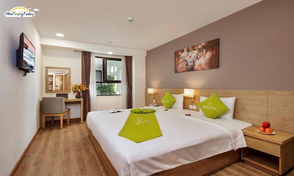 khach san Ale nha trang hotel - deluxe garden room