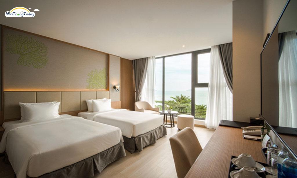 khach san Navada Beach Nha Trang hotel - Deluxe  ocean room