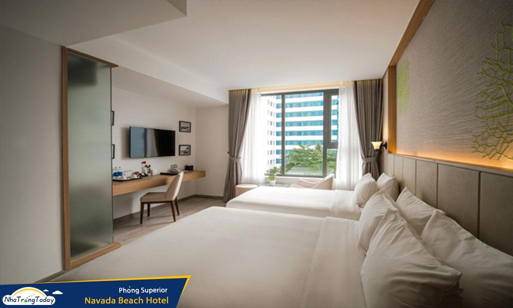khach san  Navada Beach nha trang hotel - superior room