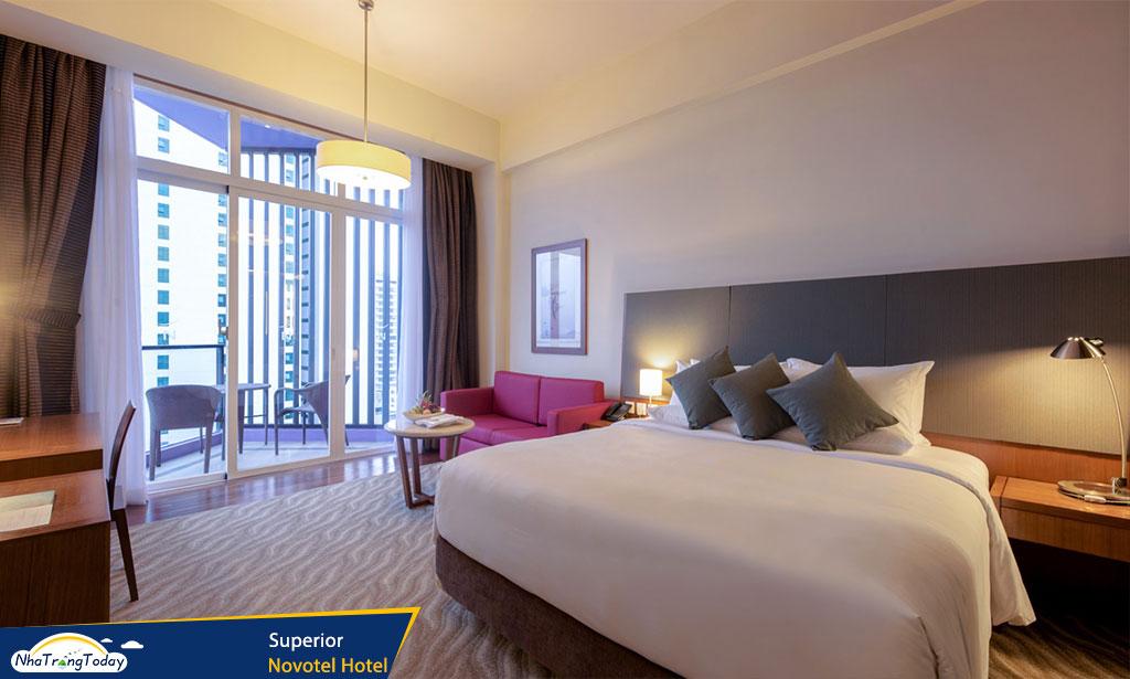 khach san novotel nha trang hotel - superior room