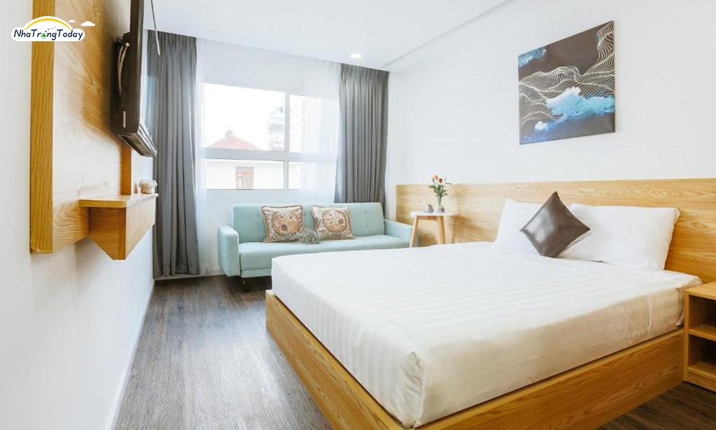 Khách sạn Larosa Nha Trang - Deluxe sea view room