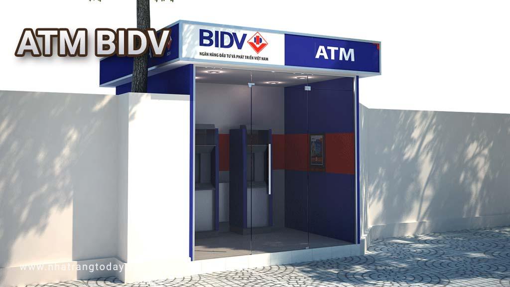 Hệ Thống ATM Ngân Hàng Đầu Tư Và Phát Triển Việt Nam BIDV Nha Trang
