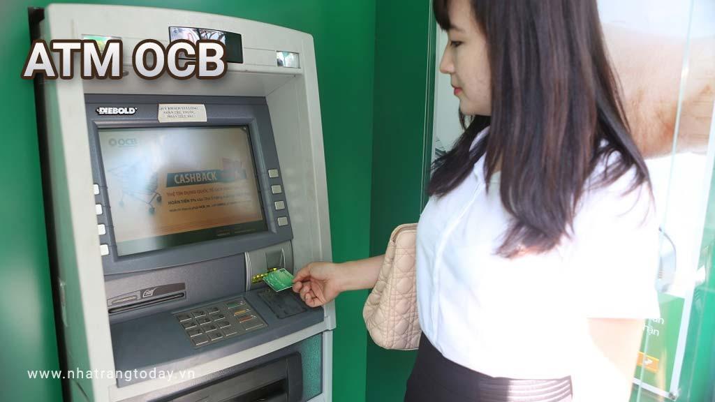Hệ Thống ATM Ngân Hàng TM - CP Phương Đông OCB Nha Trang