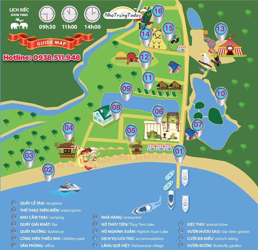 Đảo Hoa Lan Nha Trang - Gọi 0938511948 Giảm [10 - 25%] giá vé