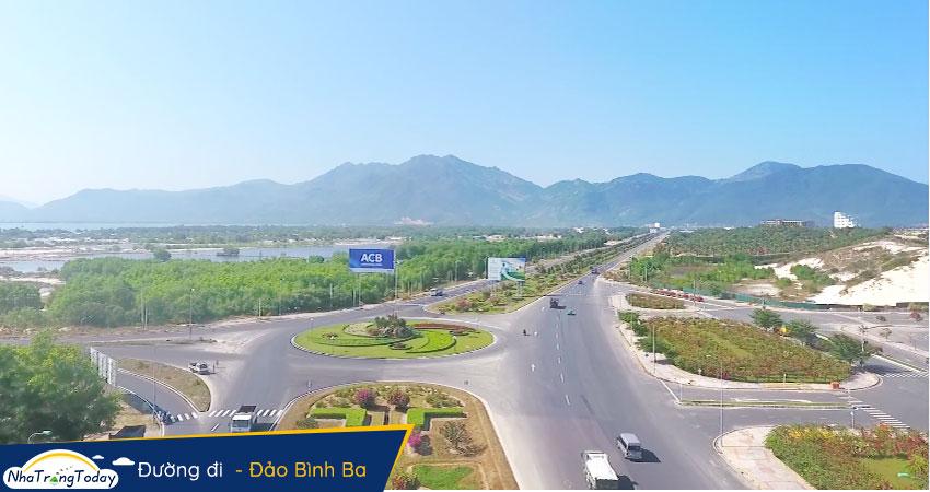 Đường đi đến Đảo Bình Ba từ Nha Trang