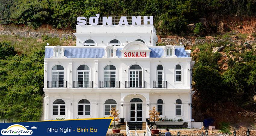nhà nghỉ Sơn Anh Bình Ba