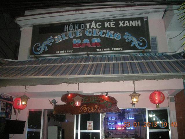 Blue Gecko Bar