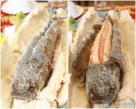 Cá lóc nướng bọt biển