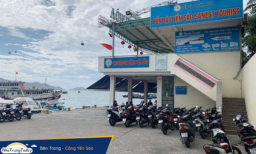 Bên trong Cảng Yến Sào Nha Trang