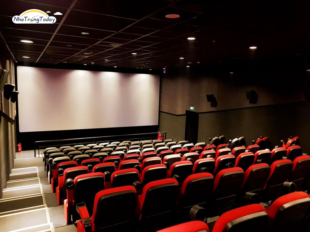 Phòng chiếu phim tại rạp CGV Nha Trang
