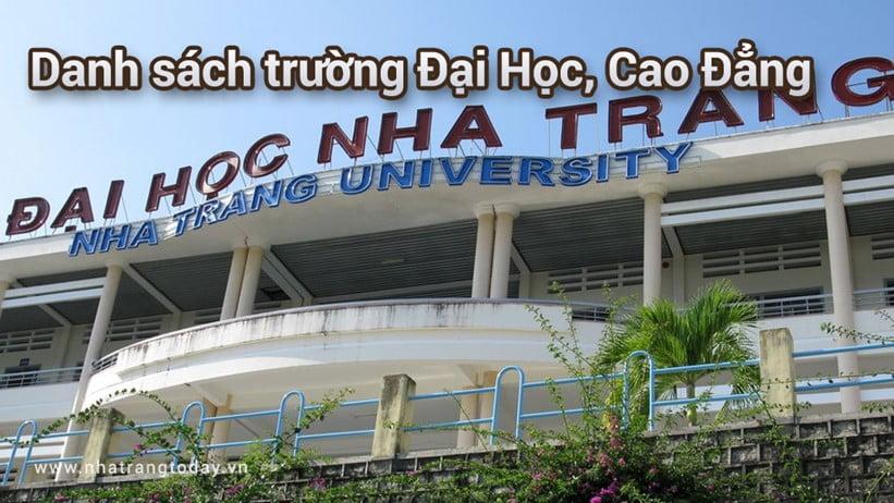 Danh sách các trường Đại Học Cao Đẳng tại Nha Trang