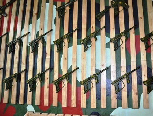 Đánh trận giả - Bắn súng sơn tại Waterland Suối Thạch Lâm