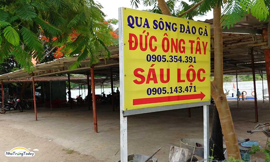 đảo gà Nha Trang