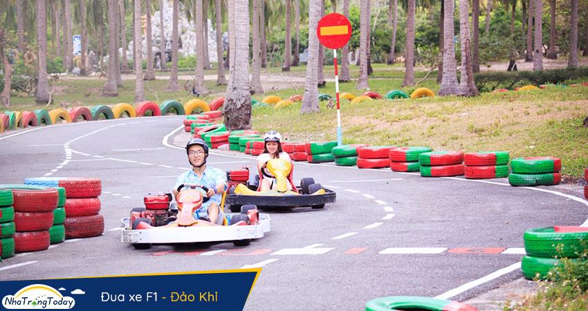 Đua xe F1 tại đảo khỉ nha trang