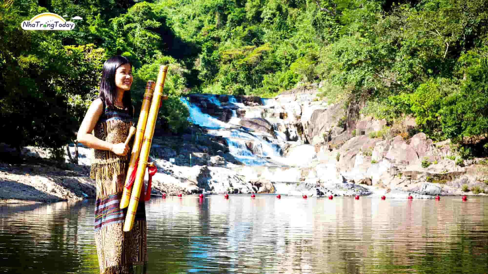 thác yang bay Nha Trang