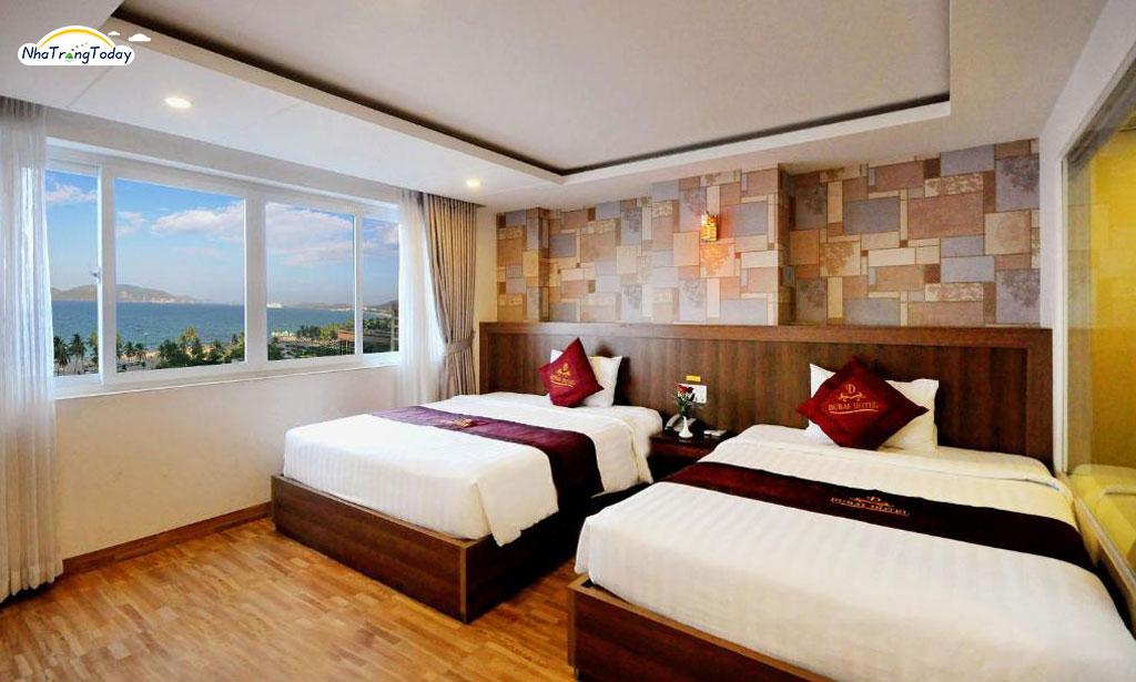 khach san Dubai nha trang - Suite Sea View