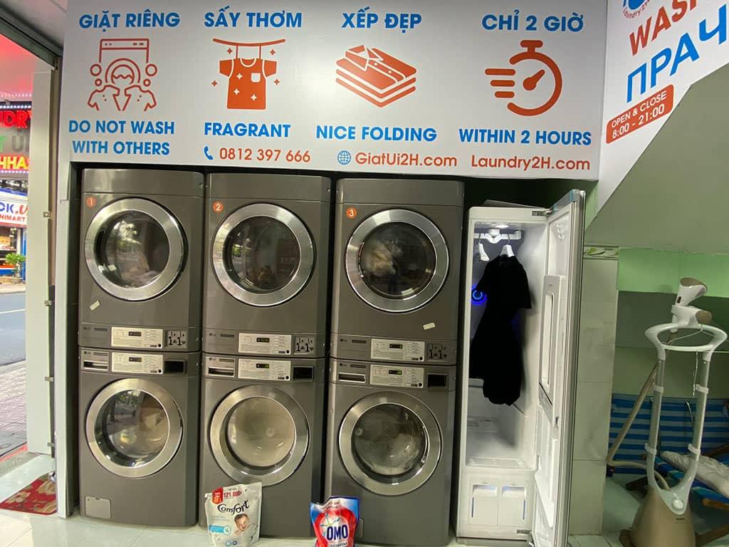 địa chỉ giặt ủi nha trang